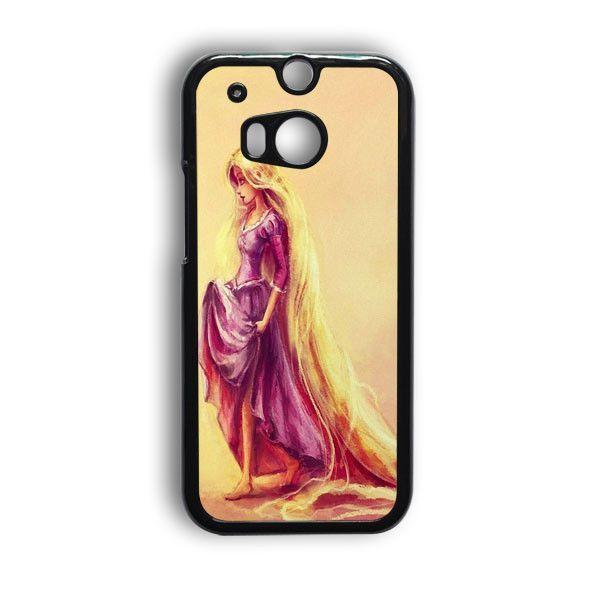 Disney Princess Rapunzel Art HTC One M9 Case