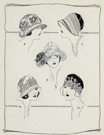MILLINERY WIE MAN 1920 VINTAGE HATS HERSTELLT, ist für uns kreative Inspiration. Erhalten Sie mehr …