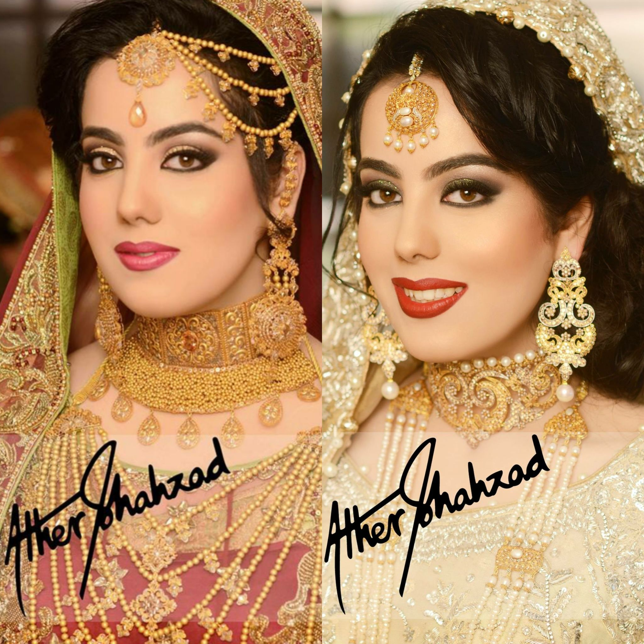 Makeup And Photography By Ather Shahzad Bridal Makeup Pakistani Bridal Makeup