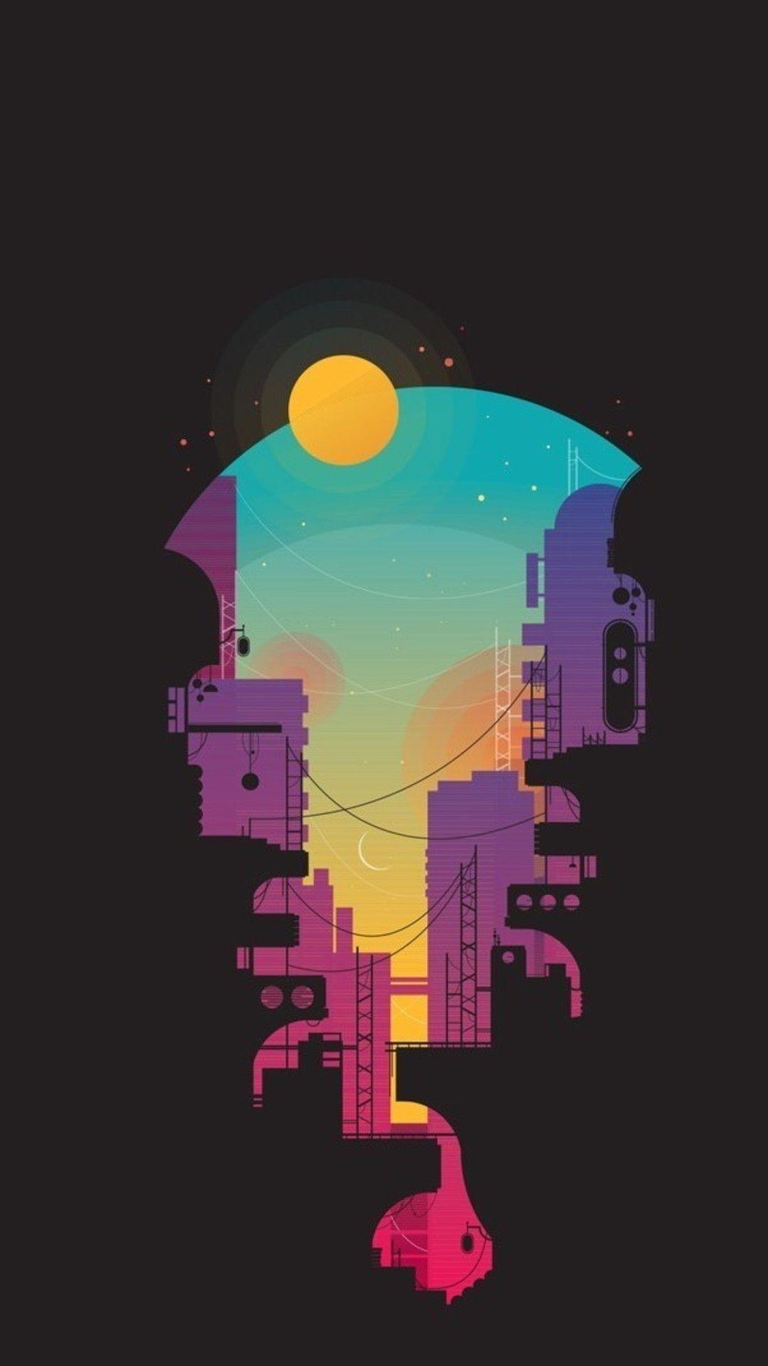 City Minimalism Sv Wallpaper - [1080x1920]