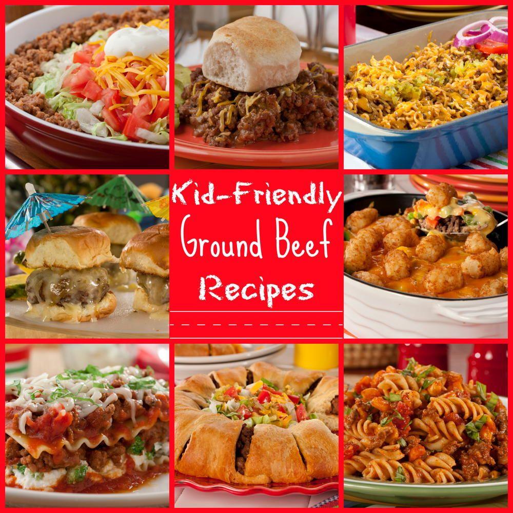 25 Kid Friendly Ground Beef Recipes Mrfood Com Ground Beef Recipes Kid Friendly Ground Beef Recipe Beef Recipes