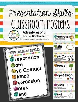 Presentation Skills Posters Presentation Skills Presentation Public Speaking