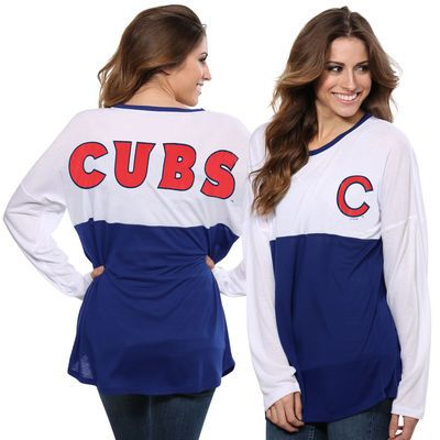 chicago cubs concepts sport women's comeback long sleeve t-shirt