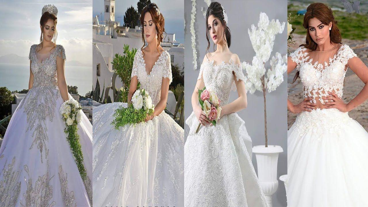 أفخم اقوى موديلات فساتين زفاف لعام 2019 اجمل فساتين اعراس روعة فساتين Wedding Dresses Lace Wedding Dresses Dresses