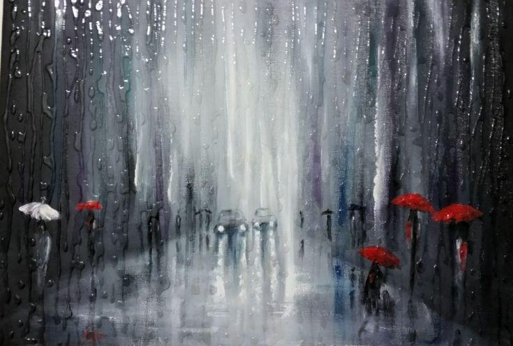who has rain dated