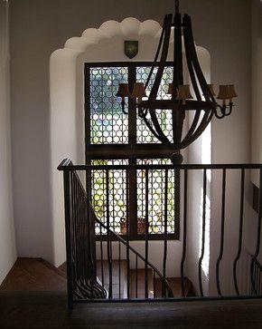 Buena Vista Mediterranean Windows Los Angeles Holroyd Studios Leaded Glass Spanish Interior Spanish Style Homes