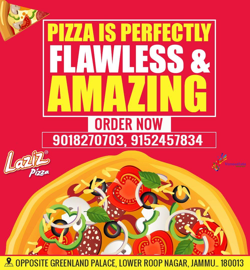 Pizza Lovers #stop At Laziz Pizza Roop Nagar Jammu And