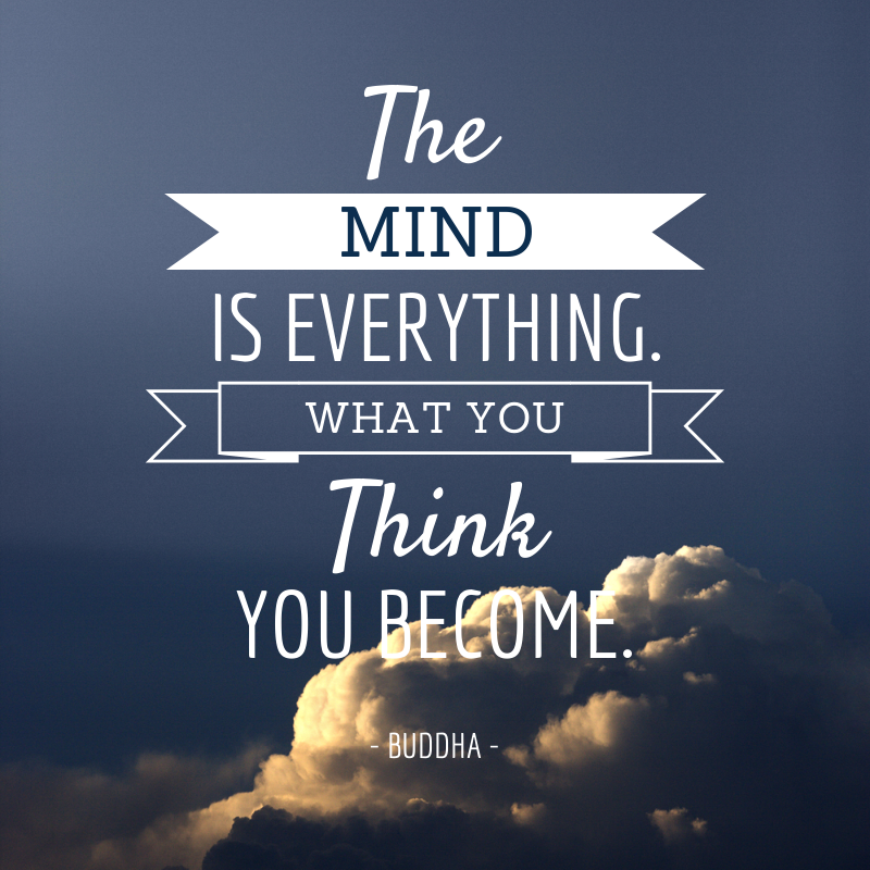 The Mind Is Everything What You Think You Become Buddha