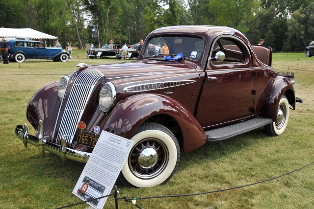 1937 Hupmobile 618g Custom Series Coupe Owned By Gregory Drufke