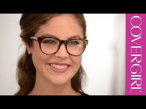 Simple Eye Makeup Tutorial for Glasses | COVERGIRL - YouTube