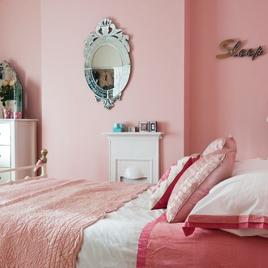 Pretty Pink Bedroom Period Decorating Ideas 25 Beautiful Homes Housetohome