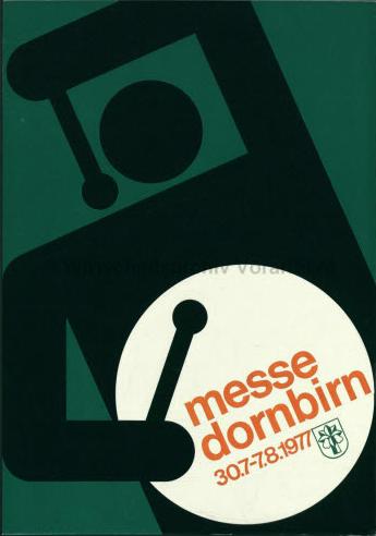 By Othmar Motter (Vorarlberger Graphik), 1977, Dornbirn exhibition.