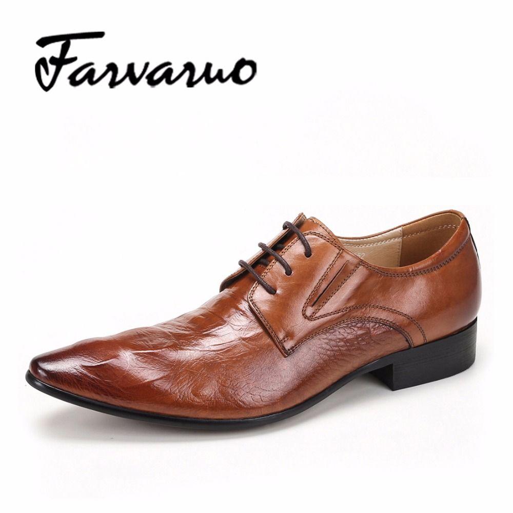 Chaussures de Ville /à Lacets Oxford Derby Mariage Dressing Business daffaires Chaussure Homme Brogue