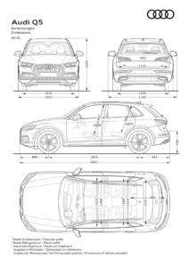 2017 Audi Q5 Dimensions Audi Q5 Audi Rs4 Audi A7 Sportback