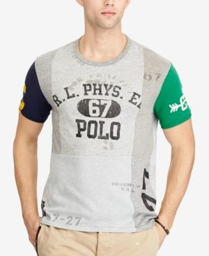 Polo Ralph Lauren Men's Custom Slim Fit Graphic T-Shirt - T-Shirts - Men -  Macy's