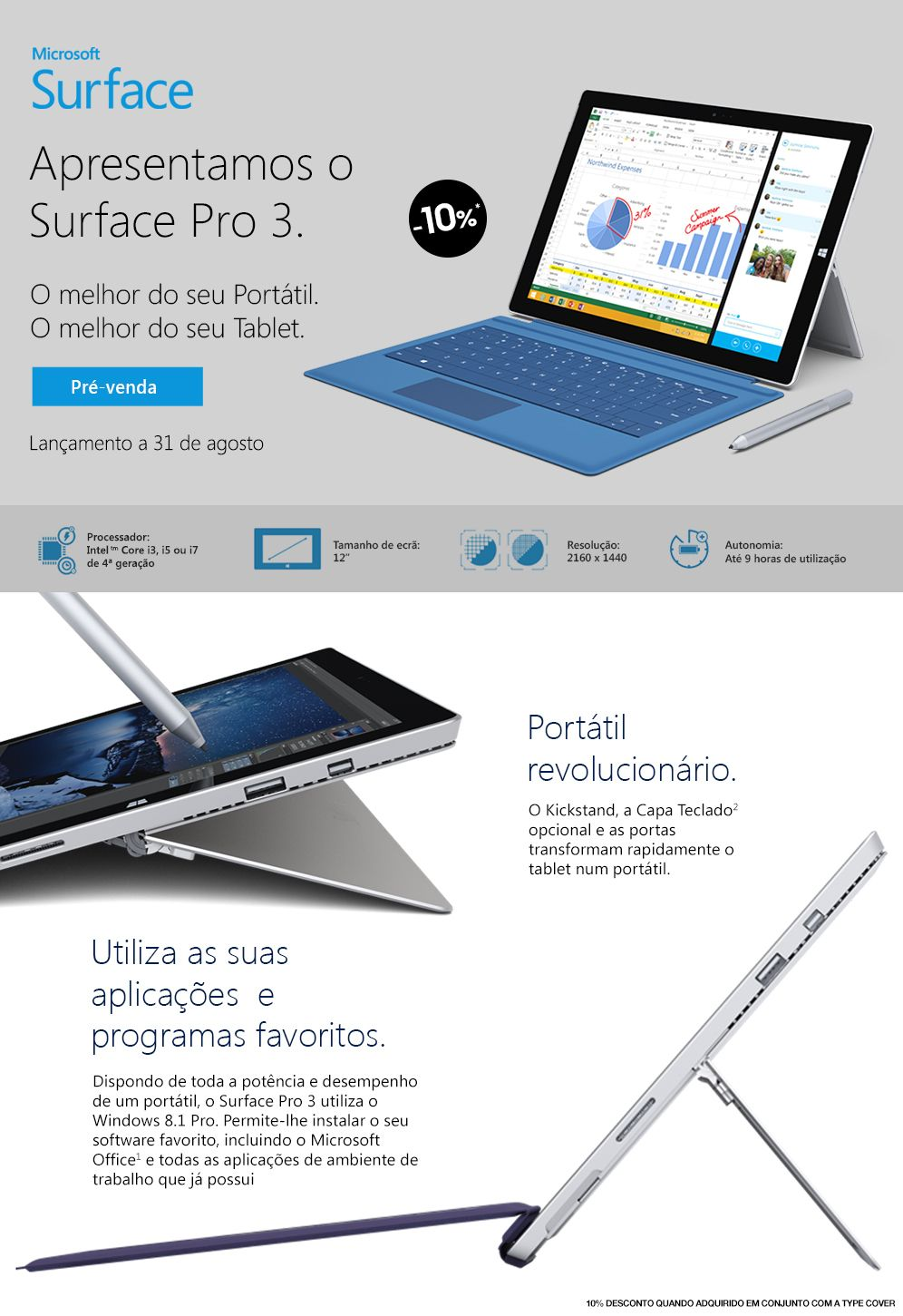 Fnac.pt - Microsoft Surface Pro 3