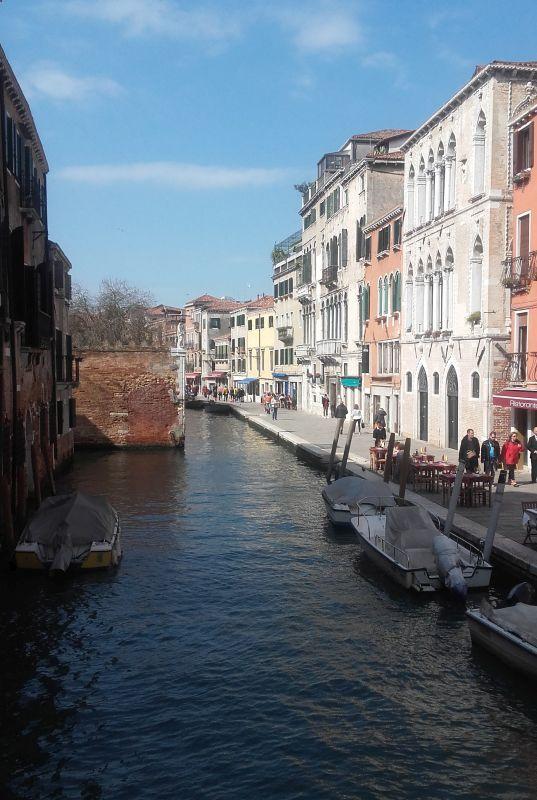 Non so dove sia, ma non importa. Questa è Venezia - Destination anywhere, east or west I don't care