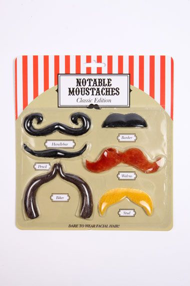 Urban Outfitters - Notable Moustaches