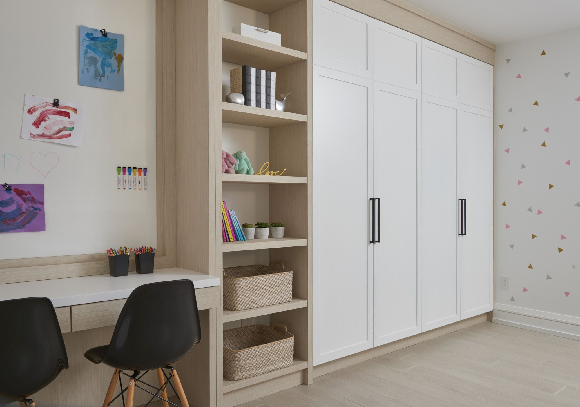 Playroom built-ins | Bedroom wall units, Wall unit, Built ins