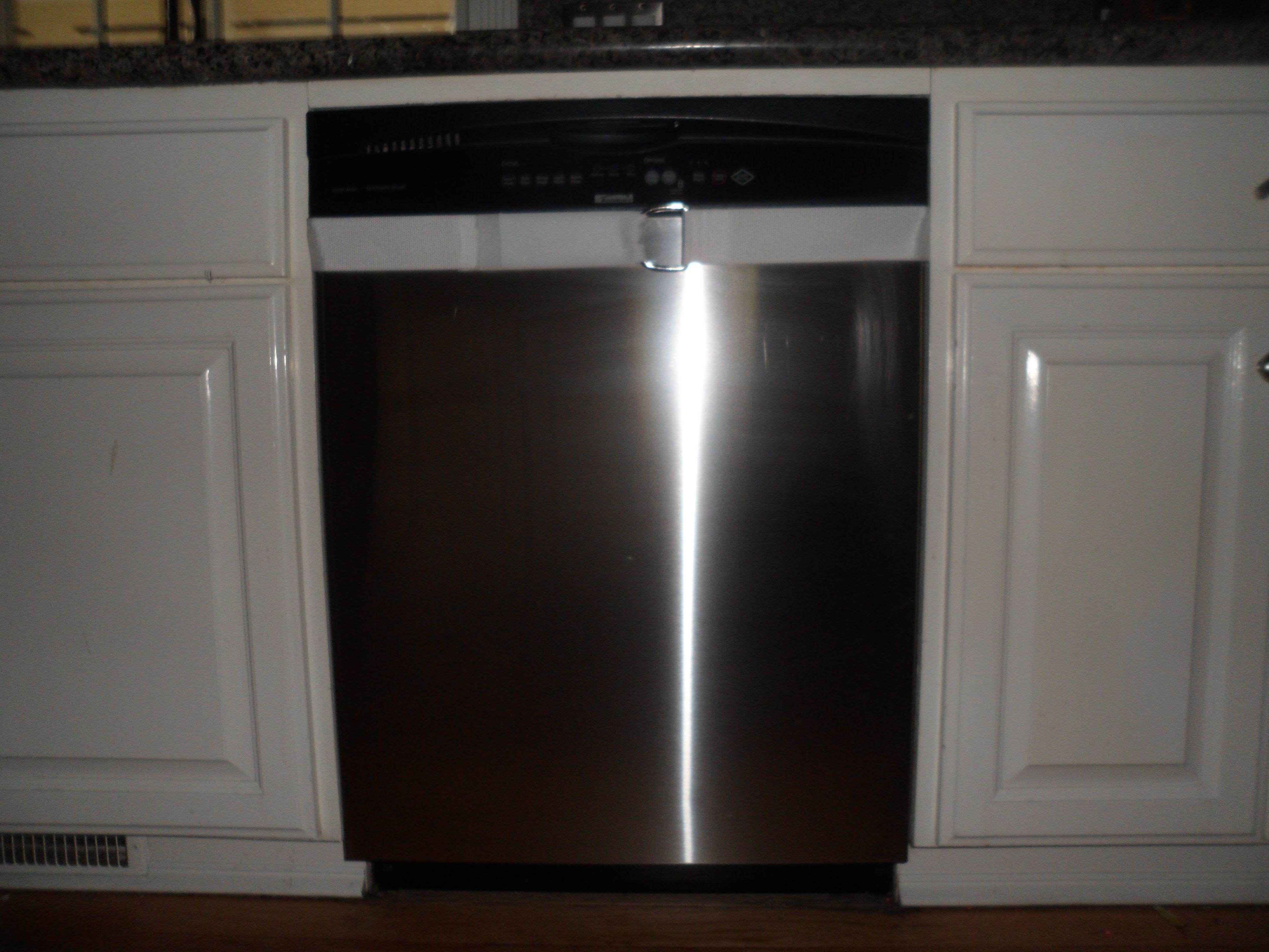 kitchenaid bottom freezer handle loose