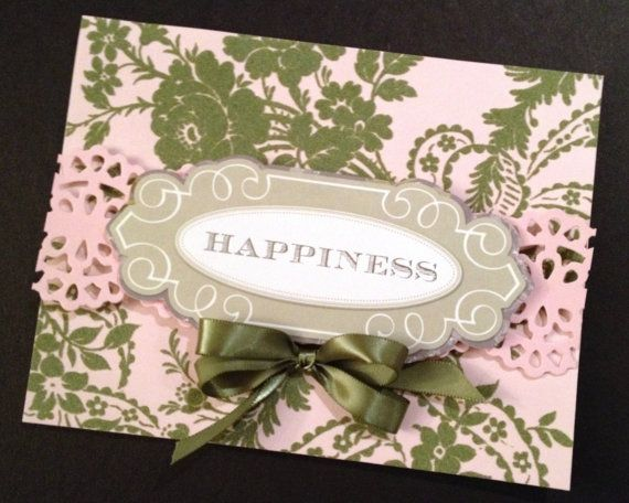 Pink and Green Flocked Paper Valentine with Anna Griffin Papers