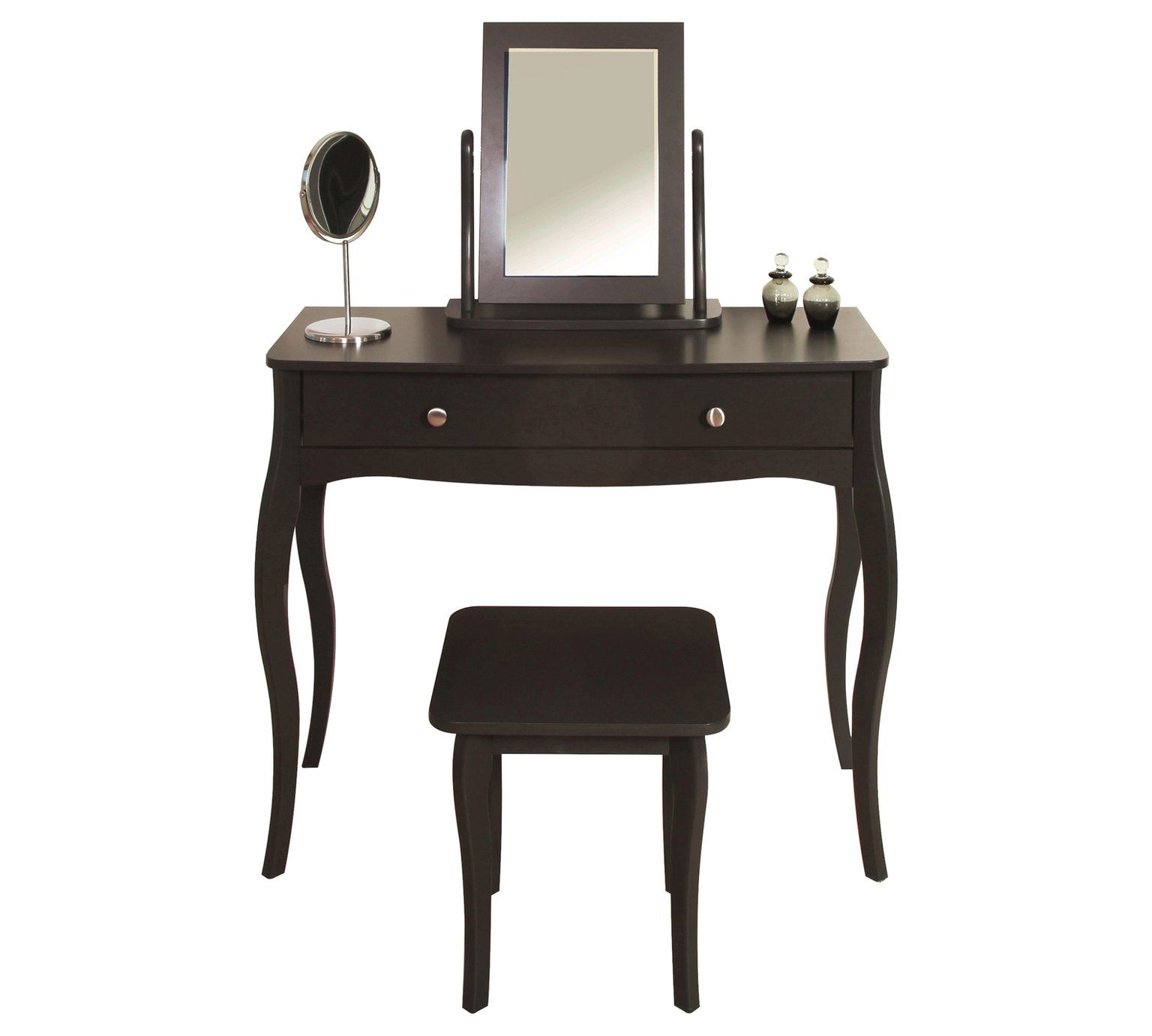 Buy Argos Home Amelie Dressing Table Mirror And Stool Grey Dressing Tables Dressing Table Argos Toddler Table Chairs Leather Chaise Lounge Chair