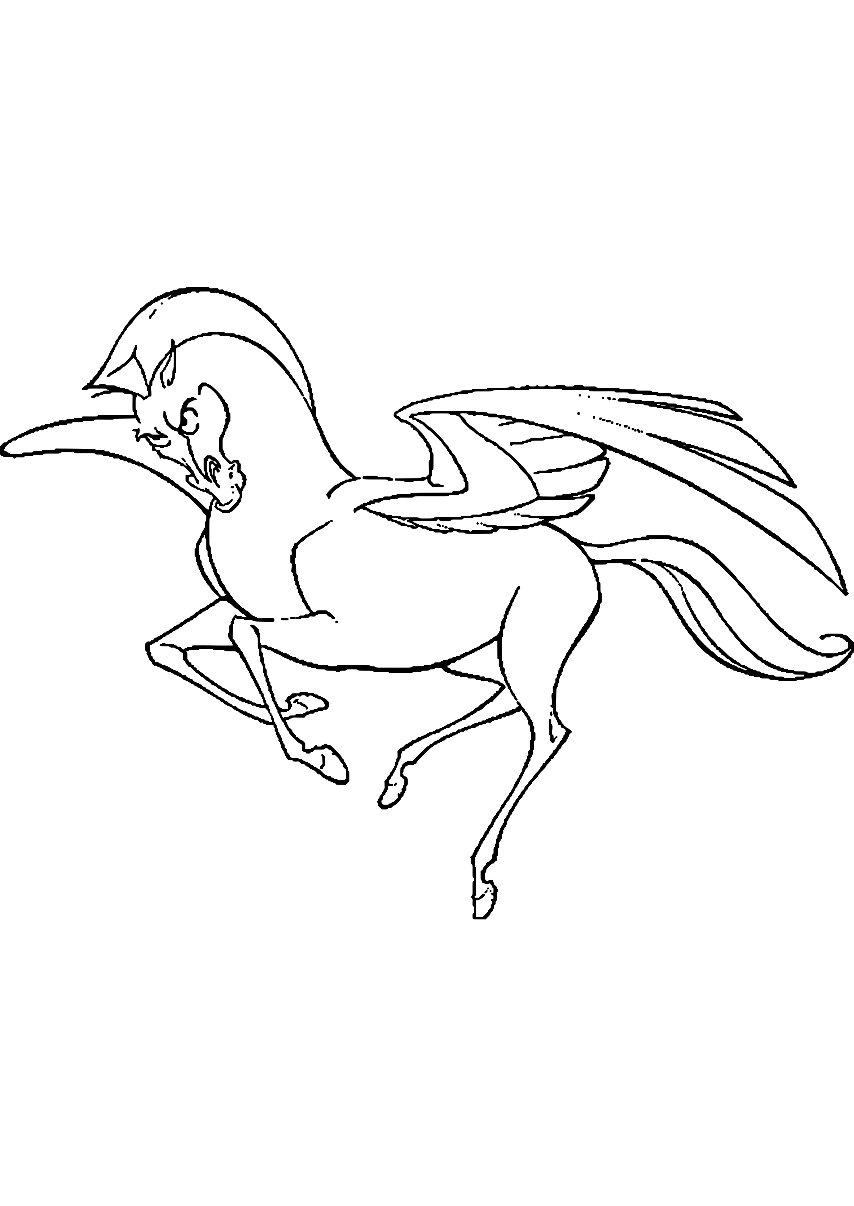 ausmalbilder pferde lesezeichen