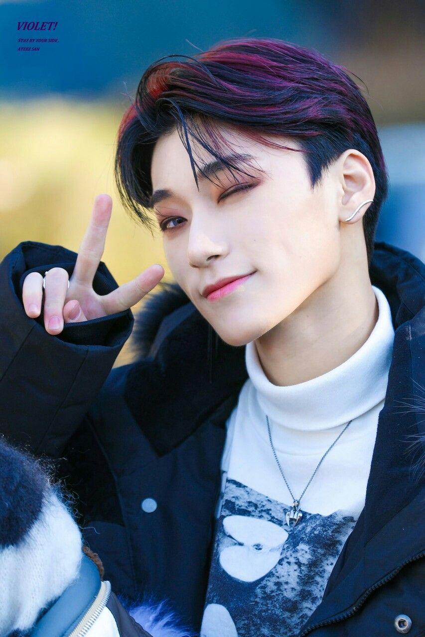 San Ateez Kpop Idol Kpop San
