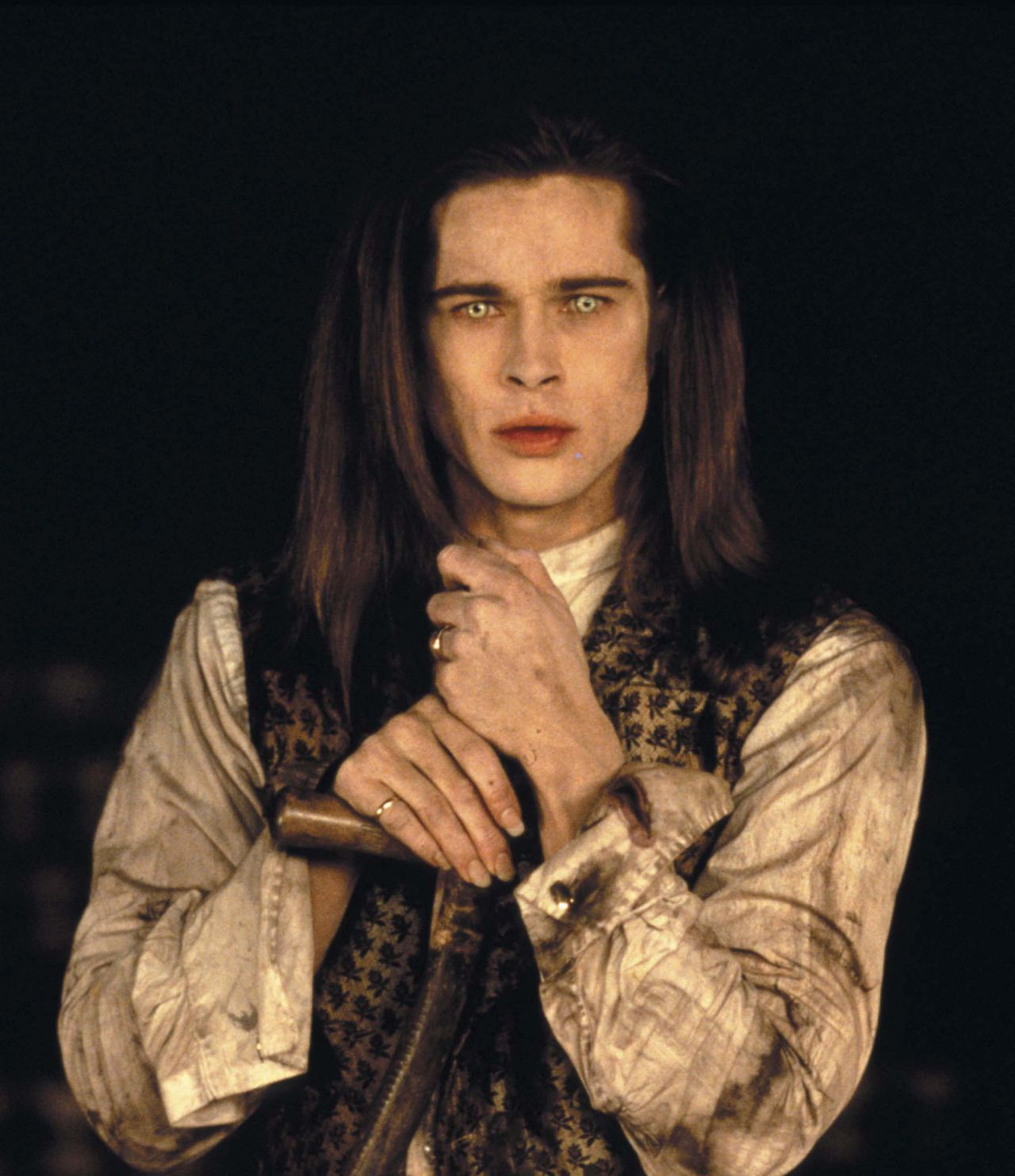 "Brad Pitt en ""Entrevista con el vampiro"" (Interview with the Vampire: The Vampire Chronicles), 1994"