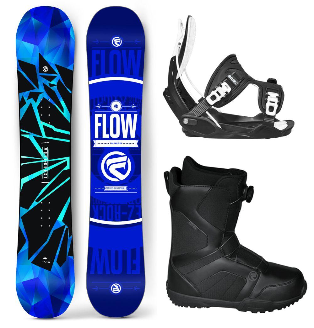 10feedbabf62 2016 Flow Burst Snowboard Package Flow Bindings BOA Boots - SNS Boards -  Snowboards N Stuff