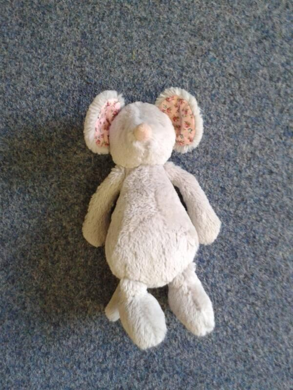 FOUND in BRIGHTON & HOVE, UK (2013)  This cuddly stuffed mouse toy was found by Brighton & Hove City Council's Playbus contact: https://twitter.com/BHCCplaybus