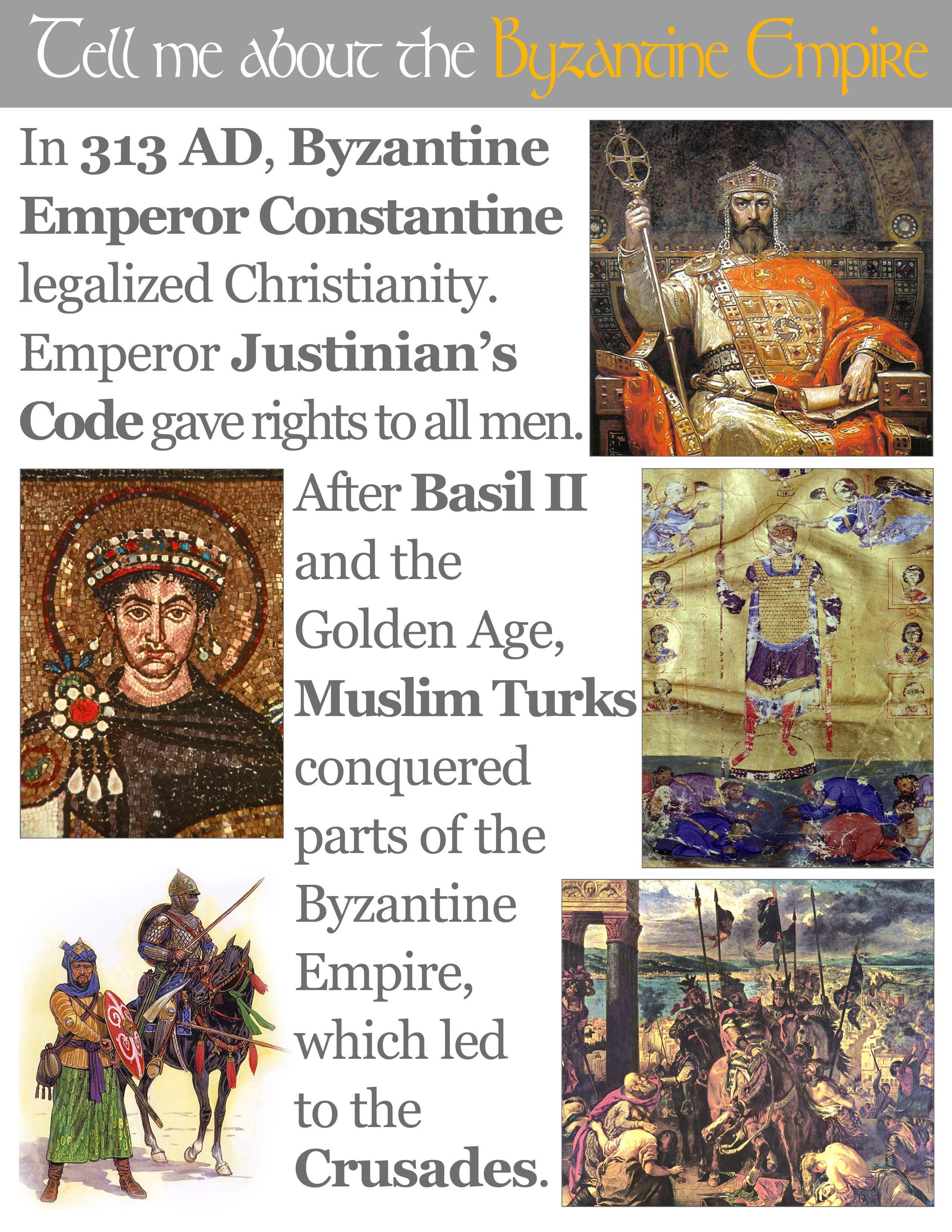 Classical Conversations Cycle 1 Week 11 History Tell Me About The Byzantine Empire