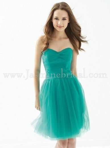 Really Like This Color Not So Much The Tulle Caribbean Blue B2
