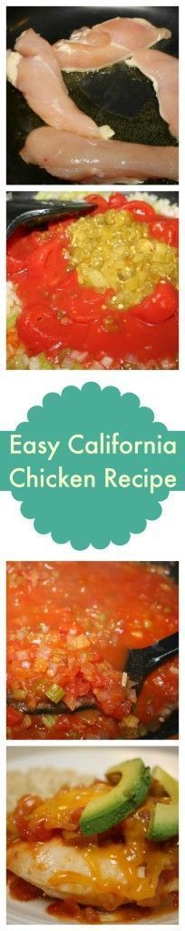 California Chicken Recipe #chickenbreastrecipeseasy