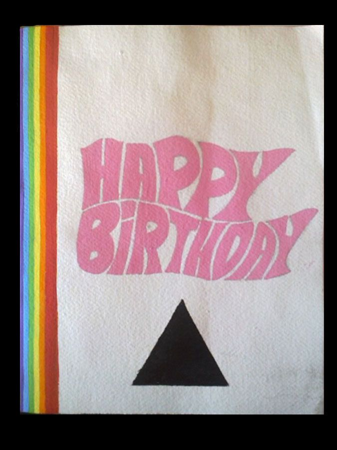 Card i made for 3 pinkfloyd artwork birthday card ideas card i made for 3 pinkfloyd artwork bookmarktalkfo Image collections