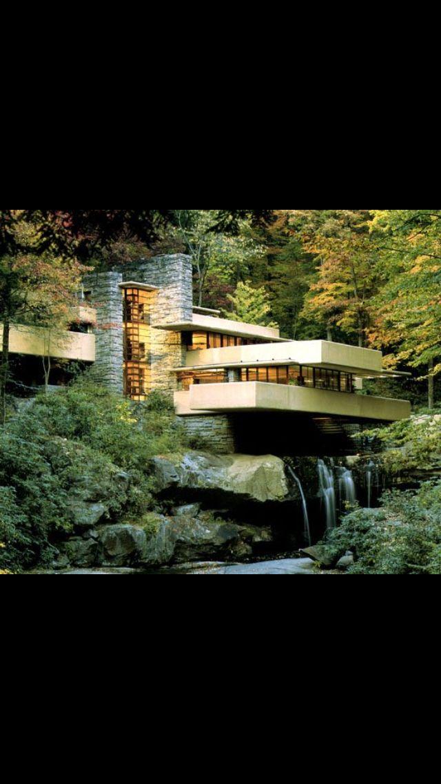 Fallingwater, Bear Run Pennsylvania, USA