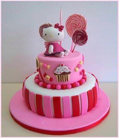 Tortas decoradas y cupcakes infantiles 15 a os bodas for Tortas decoradas infantiles