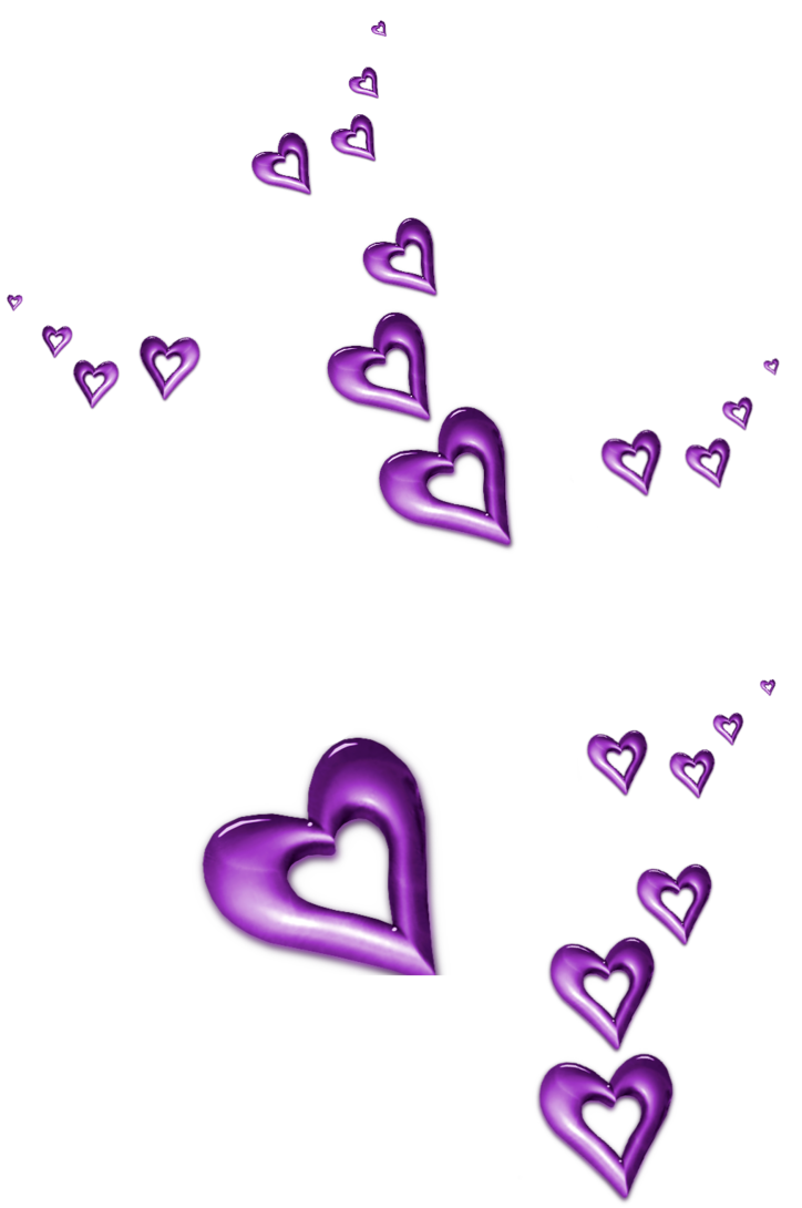 Purple Decorative Hearts Ornaments Png Clipart Red Heart Tattoos Colorful Heart Clip Art