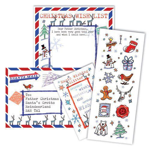 Christmas Wish List - £350 3 sheets of paper  3 envelopes