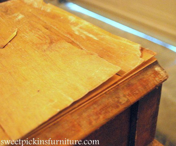 Tips For Removing Peeling Veneer Crafts Misc Wood