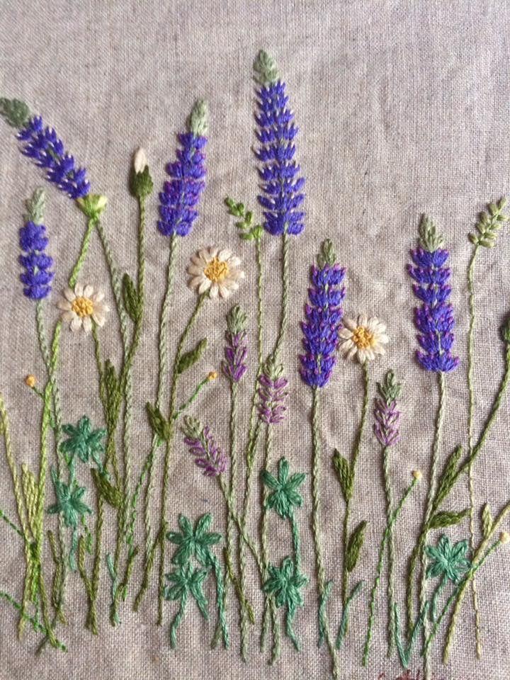 Pretty embroidery bordados pinterest