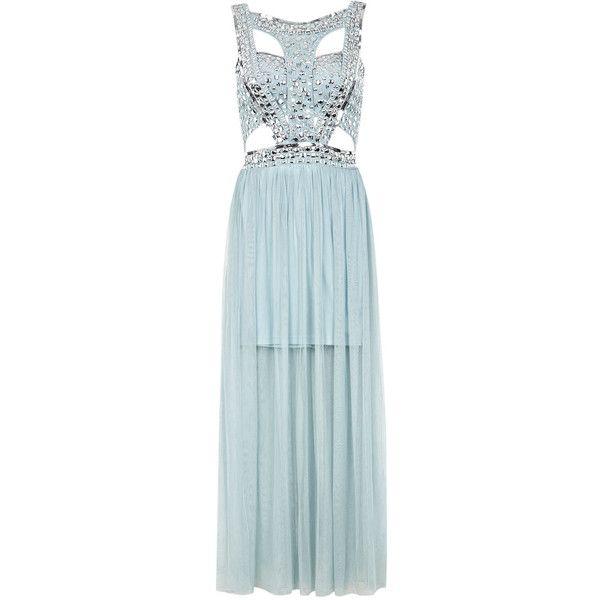 308678ce5d4 Miss Selfridge Sequin Stud Maxi Dress  137
