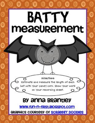 this lesson was designed for teaching measurement to first grade great lesson for halloween it. Black Bedroom Furniture Sets. Home Design Ideas