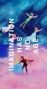 Imagination has no age.