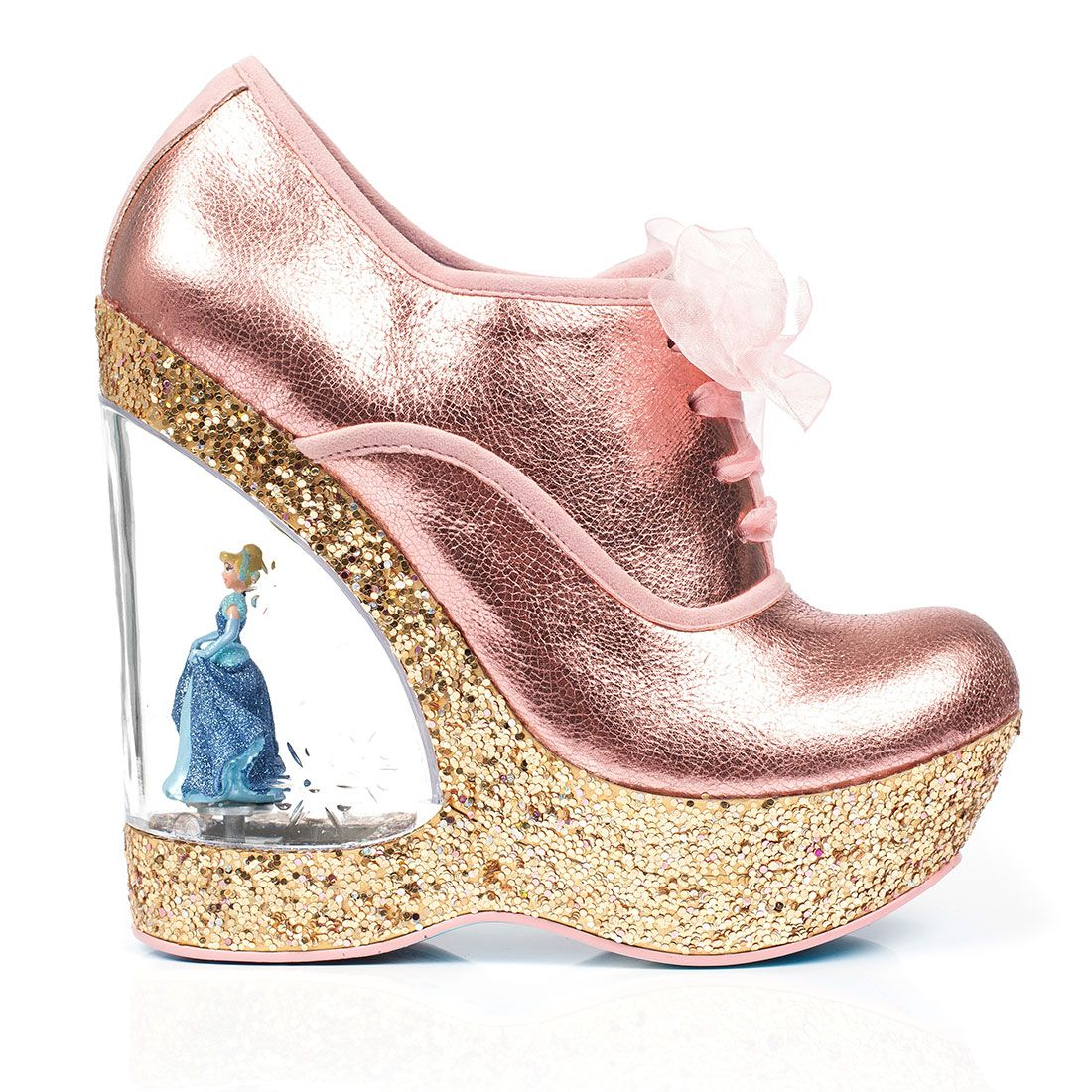 7cb5306482 Irregular Choice Home Before 12 Womens Wedges Copper New Shoes ...