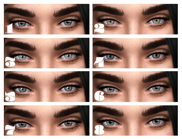 Picky TS4 Finds! | The sims 4 | Teal eyes, Hazel green ...