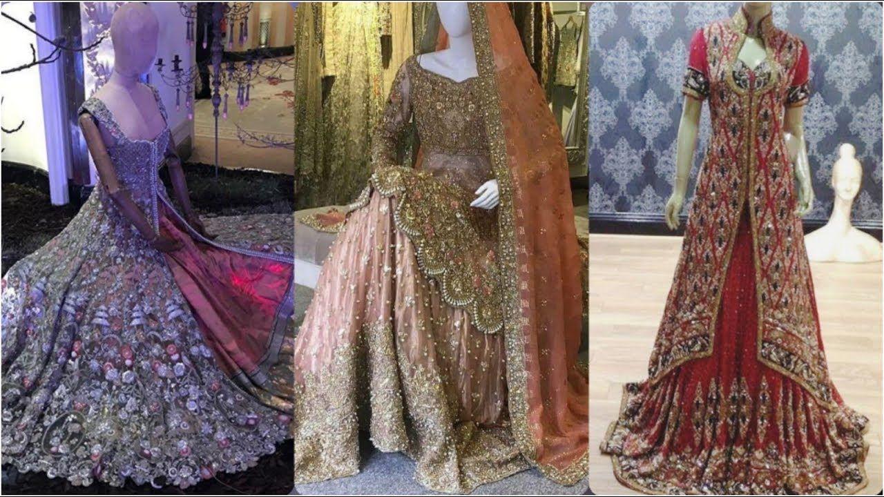 Most #Trending Video -Farshi #Gharara Sharara Designers Dresses 2019-2020