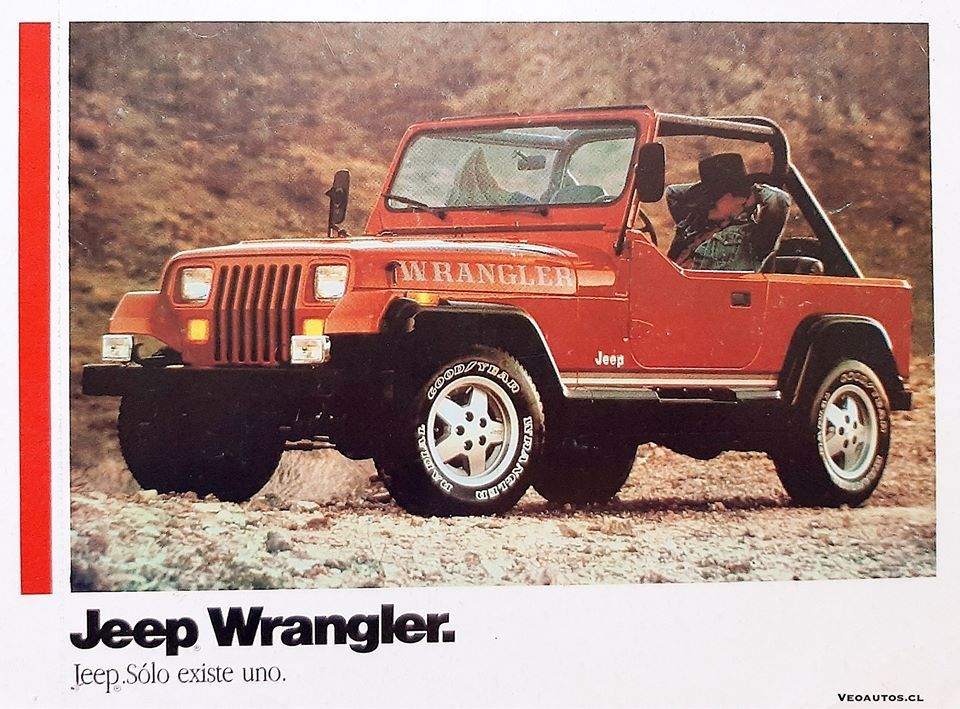 Notas Jeep Wrangler Yj Ficha De Producto Chile 1989 1990 Info