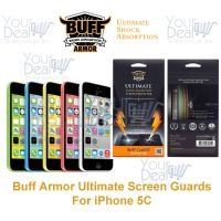 Buff Armor iPhone 5C Front Screen Protector Scratch Guard Antishock AntiScratch Tough