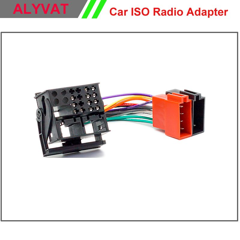 Car Radio ISO Wiring Harness For RENAULT Fluence Megane III Scenic ...